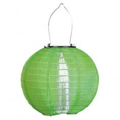 Висяща соларна лампа - зелена
