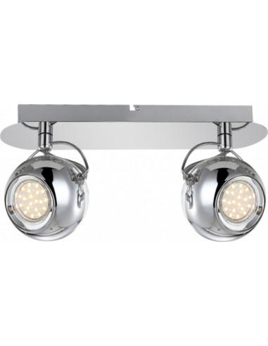 LED спот Aramid, Globo, 2xGU10