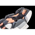 """Масажен стол """"AURA"""" с антистрес система Braintronics®  - цвят бял/сив - CASADA"""