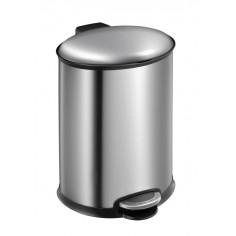 """Кош за отпадъци с педал  """"ELLIPSE""""- 12 литра - мат - EKO"""
