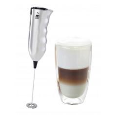 "Комплект миксер за фрапе ""MARCELLO"" и двустенна чаша за Лате Макиато (350 мл) - GEFU"