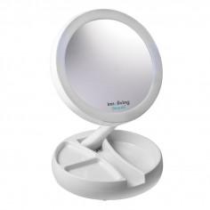 Увеличително козметично огледало с LED светлина INN - 805 - INNOLIVING