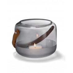 """Стъклен свещник """"MARLON"""" - L размер - PHILIPPI"""