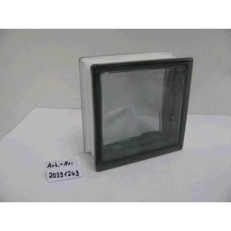 Стъклени тухли - сиви 19x19x8 см