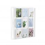 """Рамка за снимки """"PRISMA GALLERY """"- цвят бял - за 9 бр снимки - UMBRA"""