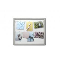 """Колаж за снимки """"CLOTHESLINE"""" - цвят сив - UMBRA"""