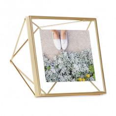 "Рамка за снимки ""PRISMA"" - цвят месинг - 10х10см - UMBRA"