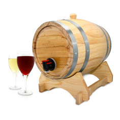 Диспенсер за вино - буре, 5 л. - Vin Bouquet