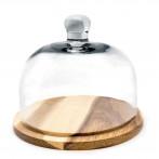 Плато за сирена със стъклен капак - Nerthus