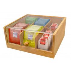 Imagén: Бамбукова кутия за съхранение на чай - Nerthus
