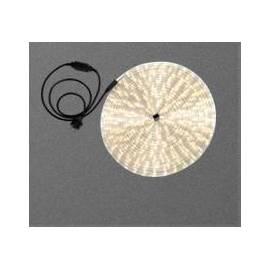Светлинен маркуч - 18 м, топло-бяла светлина