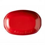 "Керамична елипсовидна форма за печене на хляб ""ARTISAN BREAD BAKER"" - 34 х 22 х 15 см - цвят червен - EMILE HENRY"