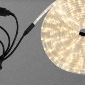 LED светлинен маркуч - 9 м, топло-бяла светлина