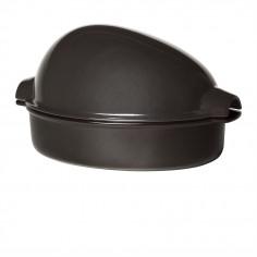 """Керамична форма за печене """"LARGE ROASTER"""" - 4 л / 42 х 28см - цвят черен - EMILE HENRY"""