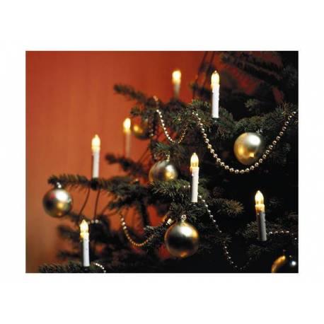 Коледни свещи - 30 броя LED