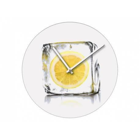 Стенен часовник 40 см, стъкло