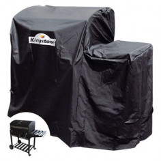 Защитно покривало за грил Kingstone Black Angus - 67х128х115 см
