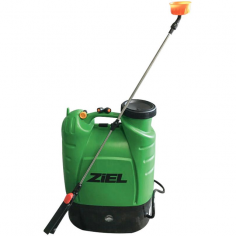 Гръбна пръскачка Ziel HY-16L-1602 - 16 л, помпа с акумулаторна батерия