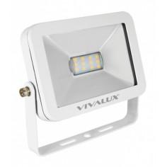 LED прожектор - 10 W, бял, IP65