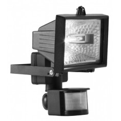 Халогенен прожектор с датчкик за движение, IP44, 150 W