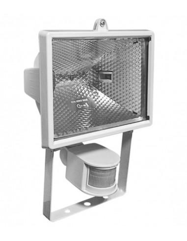 Халогенен прожектор с датчкик за движение, IP44, 500 W