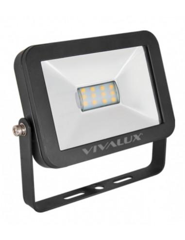 LED прожектор, черен, IP65, 10 W