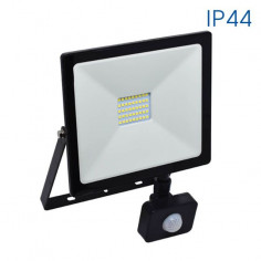 LED прожектор със сензор NYX - 30 W, W B, 2400 lm, 6400 K, черен