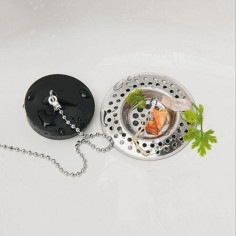Imagén: Решетъчни филтри за мивка Wenko Nirosta, 2 броя