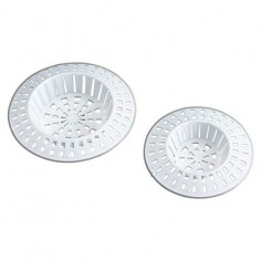 Imagén: Решетъчни филтри за мивка Wenko, полистирол, бели, 4 броя