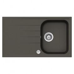 Imagén: Кухненска мивка за вграждане Schock Orlando - Полимерен материал Cristalite®, 86х50 см, бетоненосива