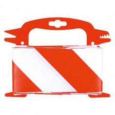 Обезопасителна лента Stabilit, червено-бяла, 50 м