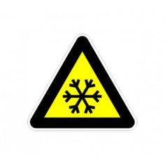 """Стикер """"Ниска температура"""", 13х12 см"""