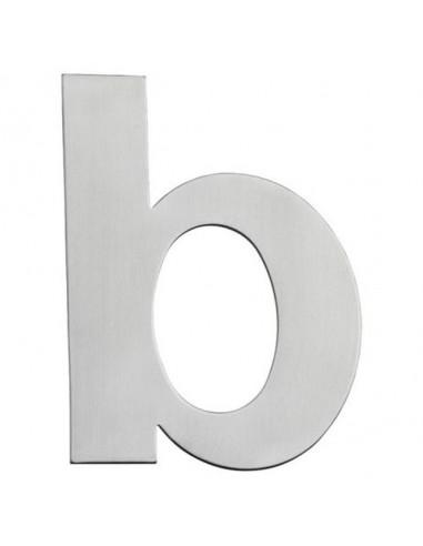 Буква за входна врата Portaferm B, неръждаема стомана, 15 см