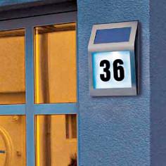 Соларен номер за входна врата Portaferm - Неръждаема стомана