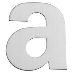 Буква за входна врата Portaferm A, неръждаема стомана, 15 см