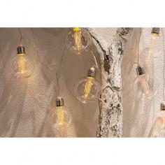 LED светеща верига - 10 крушки