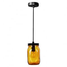 Пендел - висяща лампа амбър