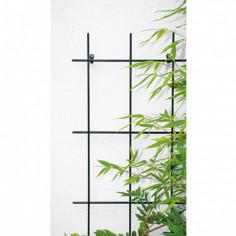 Решетка за пълзящи растения Bellissa, 4 подпори, Ø8 мм, зелена, 150х60 см