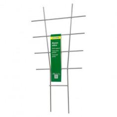 Решетка за растения Gardol, 24х44 см, метал, сребриста