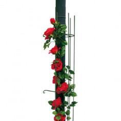 Обла решетка за увивни растения Bellissa, зелена, дължина 115 см