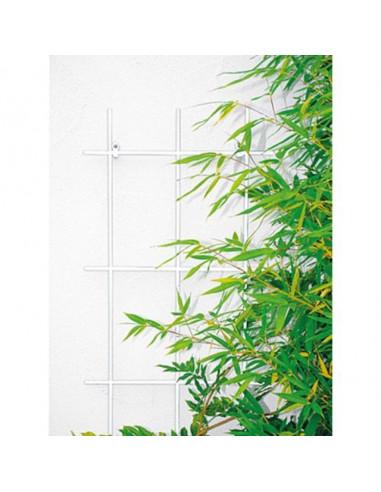 Решетка за пълзящи растения Bellissa, бяла, 150х60 см