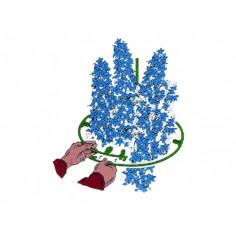 Държач за растения Bellissa, регулируем, 3 броя
