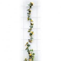 Решетка за пълзящи растения Bellissa, бяла, 150х45 см