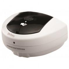 Дозатор за течен сапун със сензор 500 мл, за стенен монтаж, бял