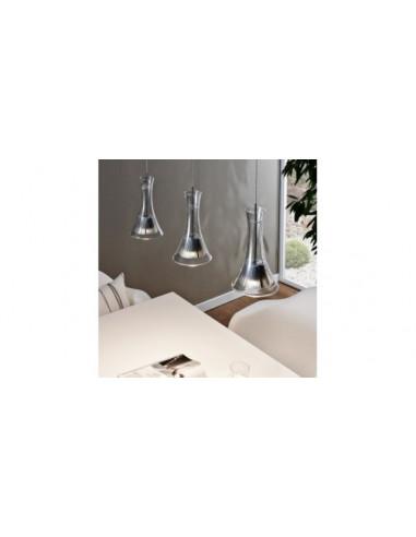LED пендел Eglo Musero, 93796 - 3х5,4 W, 3x510 lm, черен никел