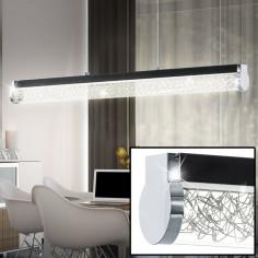 LED пендел Eglo Trevelo, 93916 - 24 W, 1680 lm, графит