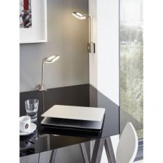 LED спот за контакт Litago - 350 lm, никел, мат