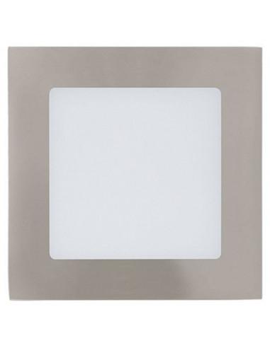 LED спот Tween Light, 5,5 W, никел мат, 120х120 мм