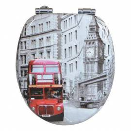 Imagén: Тоалетна седалка London Bus, MDF, забавено падане