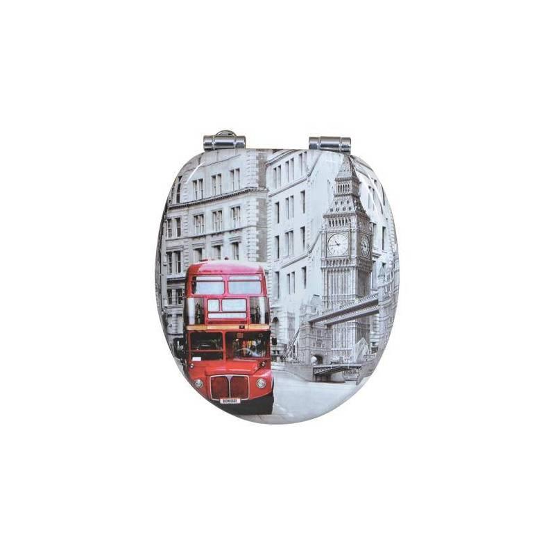 Тоалетна седалка London Bus, MDF, забавено падане..
